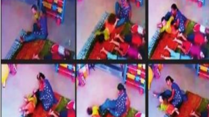 Maid abuses 10 month old baby girl