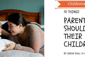 Featured image -10 things parents should train their children in