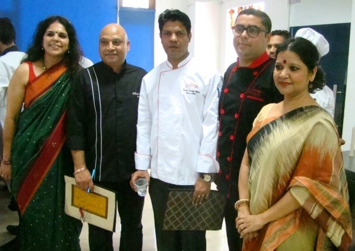 Chef Vinod Saini, Chef Anirudhya Roy and Chef Gautam Chaudhary