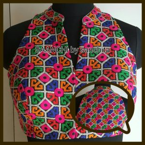 Mulded Blouse from Saanchi by Sanchita