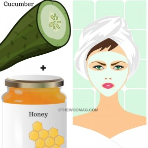 cucumber-honey- face-pack-home-remedy-herbal-remedy-for-younger-skin