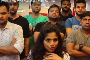 Mumbai-Tula BMC Var Bharosa Nai Ka- red FM Parody on potholes