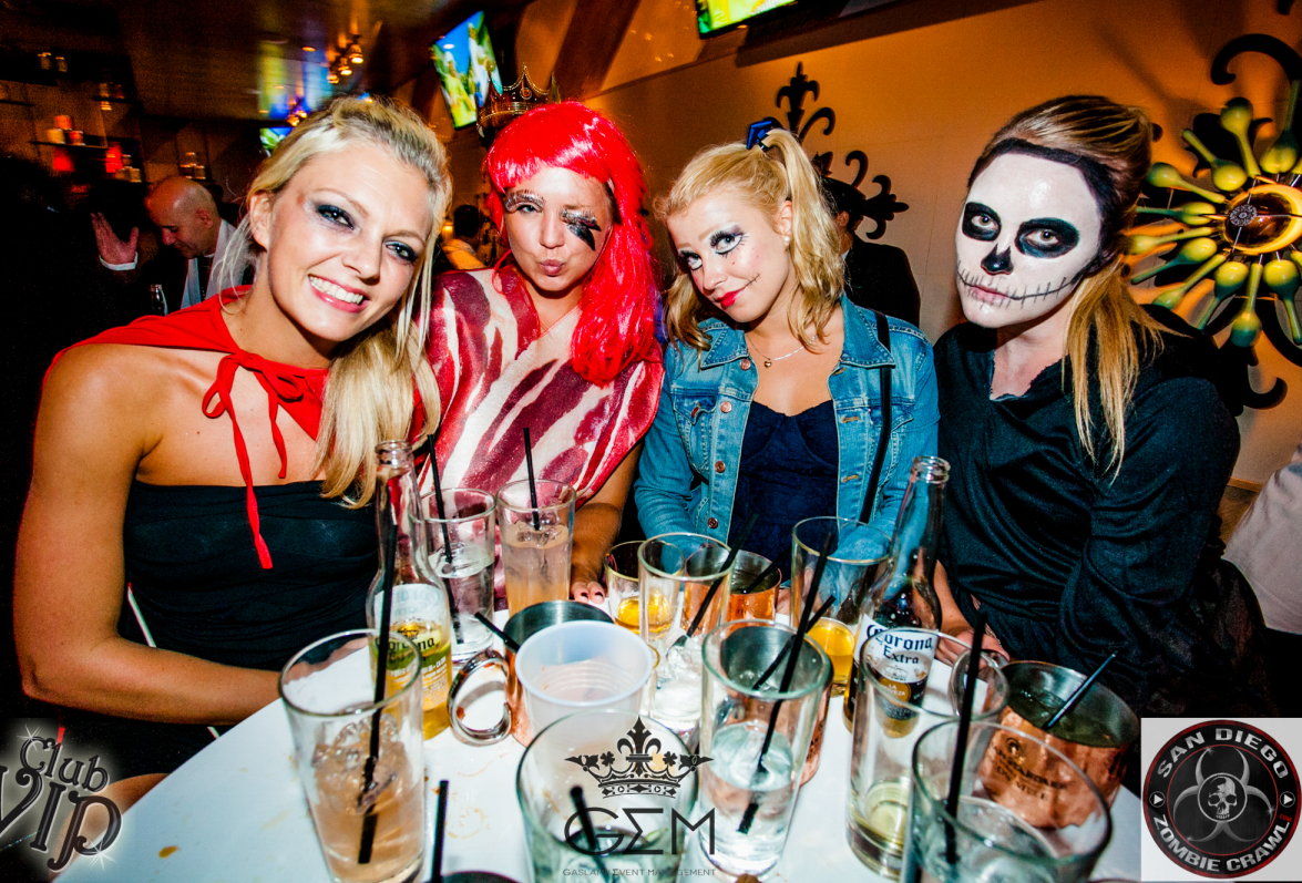 Zombie hen party